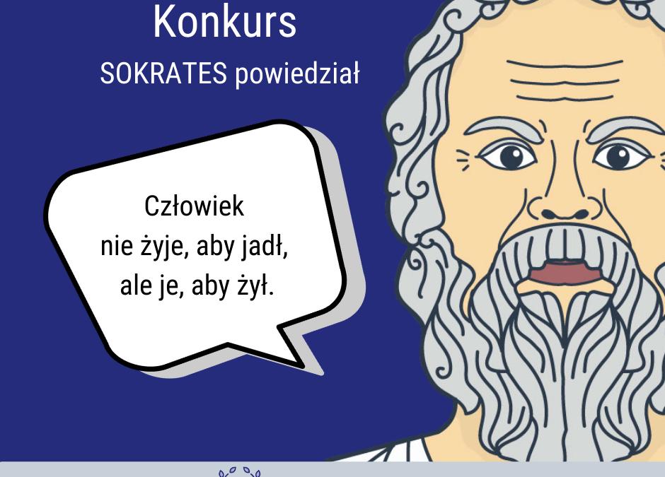 Konkurs SOKRATES powiedział…