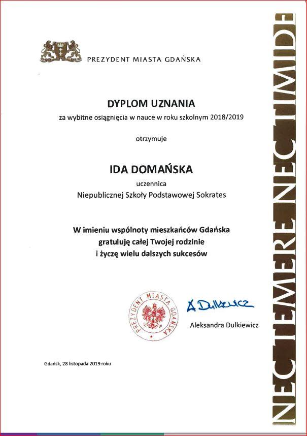 Dyplom Prezydenta