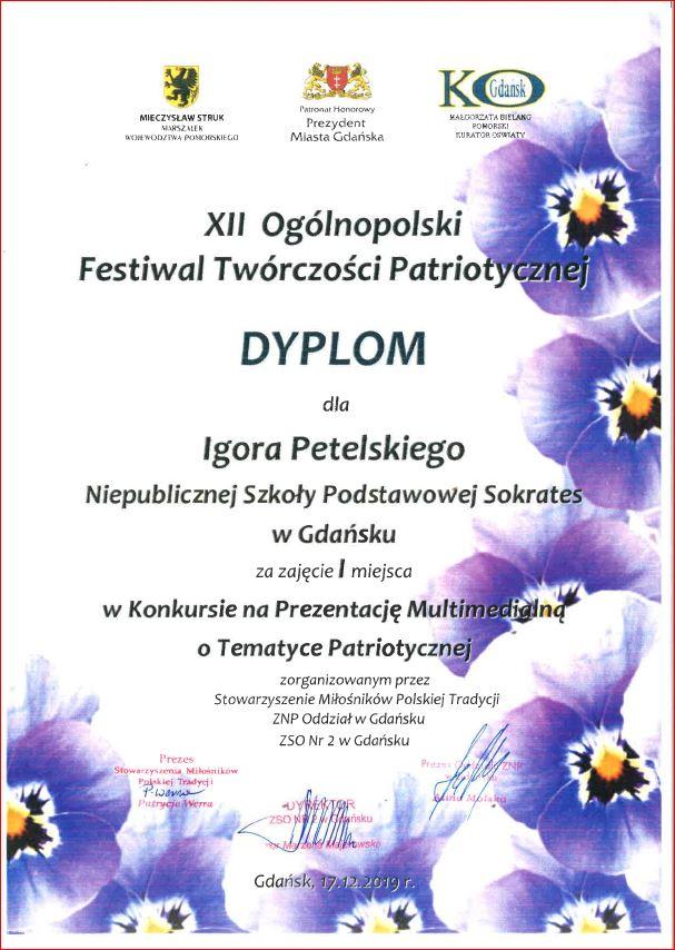 Festiwal Twórczości Patriotycznej