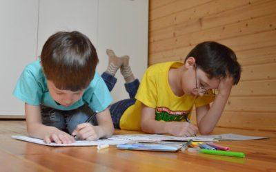 Uczniowie klas I-VIII uczą się zdalnie