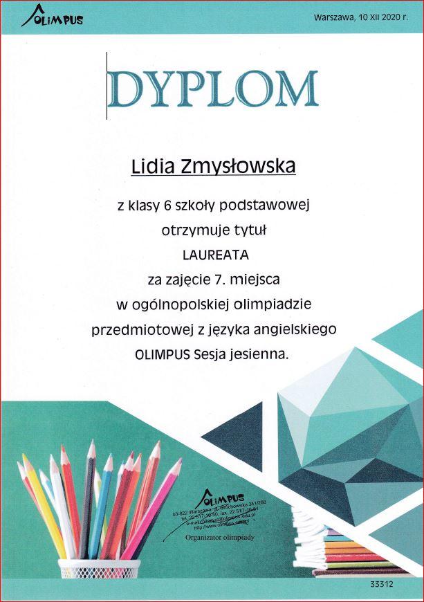 Laureatka Olimpusa