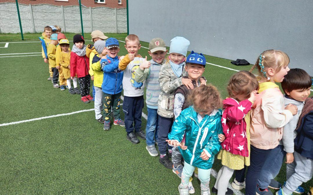 Przedszkolaki świętują Dzień Dziecka